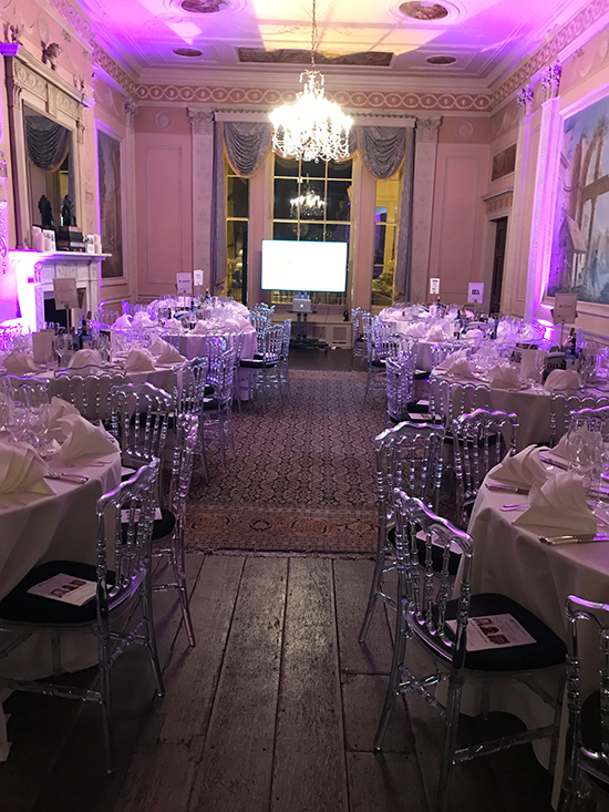 On the 13th November, we hosted our 4th annual Rugby themed dinner at Home House. The event was sold out and we raised over £15,000 for the Alexander Jansons Foundation.