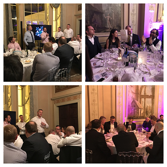 Another successful Rugby themed fundraiser for the Alexander Jansons Foundation at Home House