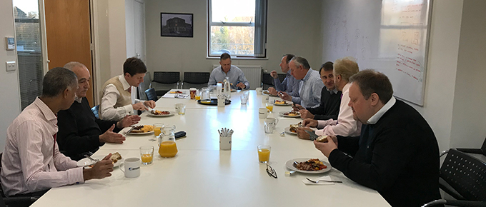 Jansons Property final agents breakfast of