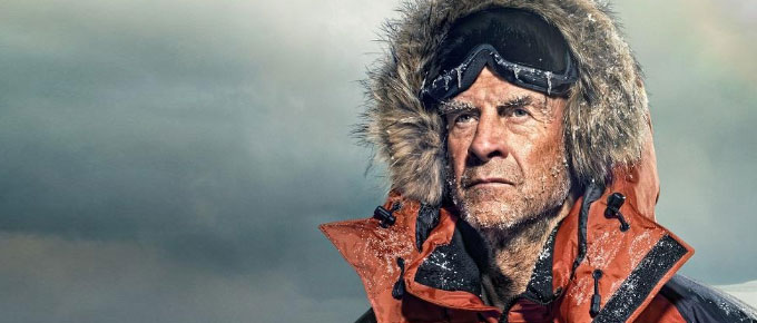 Ranulph Fiennes charity event